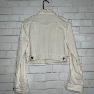 Forever 21 Jackets & Coats - Forever 21 White Denim Jacket Size Small